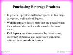 purchasing beverage products18