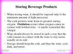 storing beverage products26