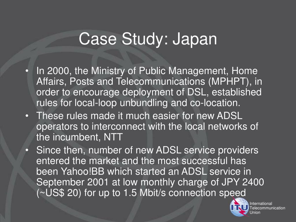 Case Study: Japan