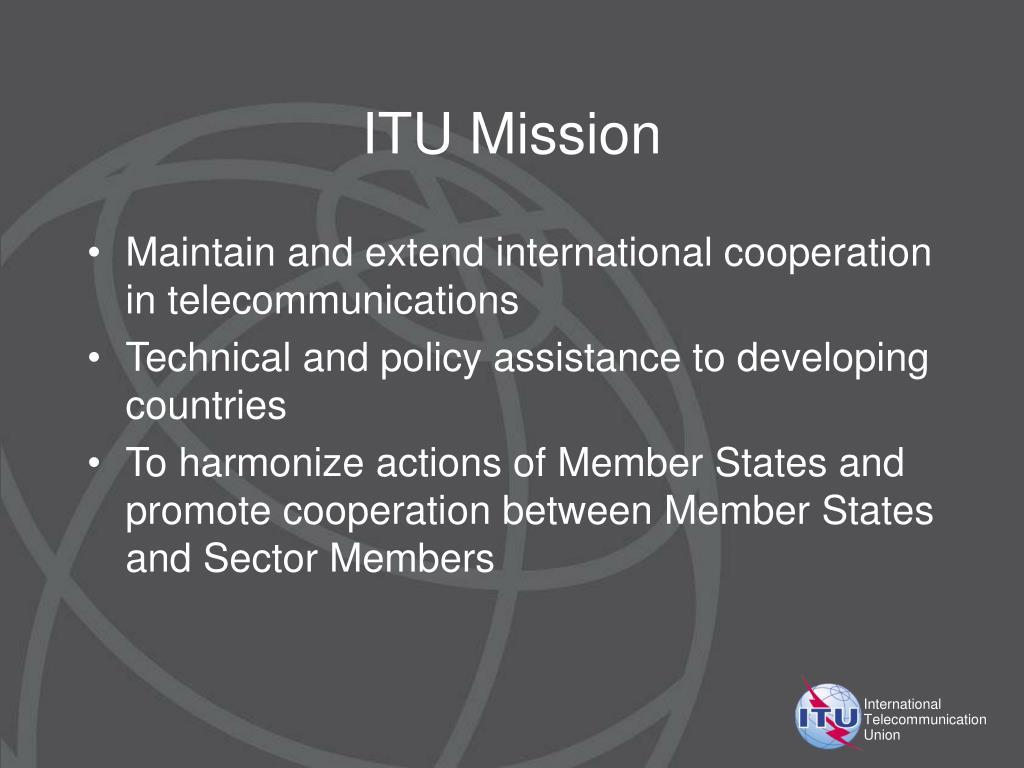ITU Mission