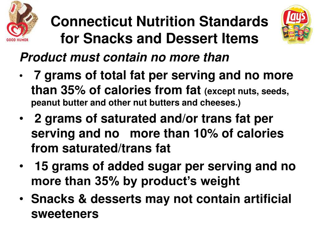 Connecticut Nutrition Standards