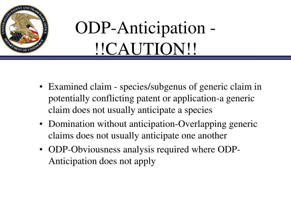ODP-Anticipation - !!CAUTION!!