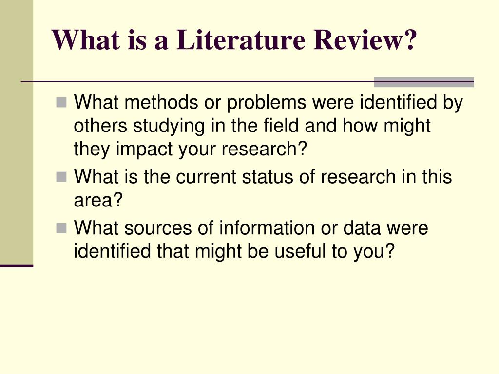 Does a literature review have to be in alphabetical order