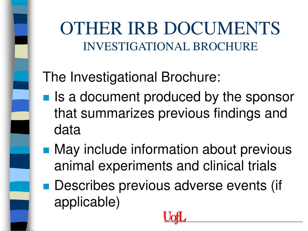OTHER IRB DOCUMENTS
