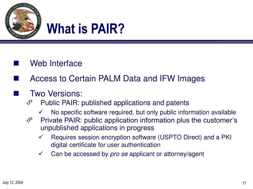 What is PAIR?
