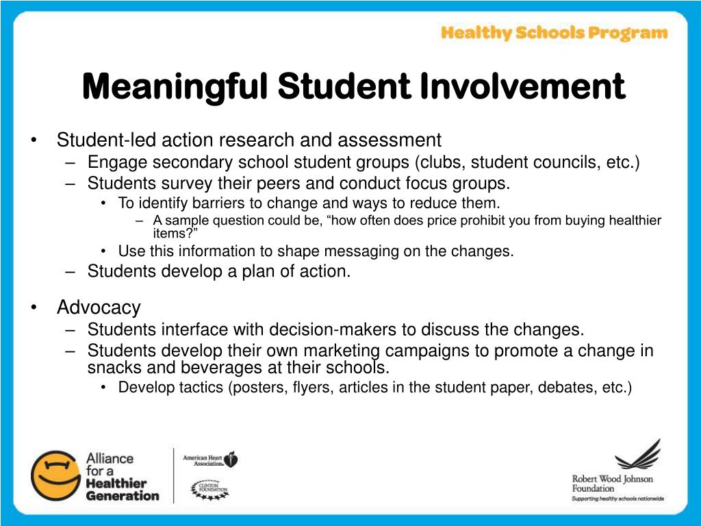 Meaningful Student Involvement