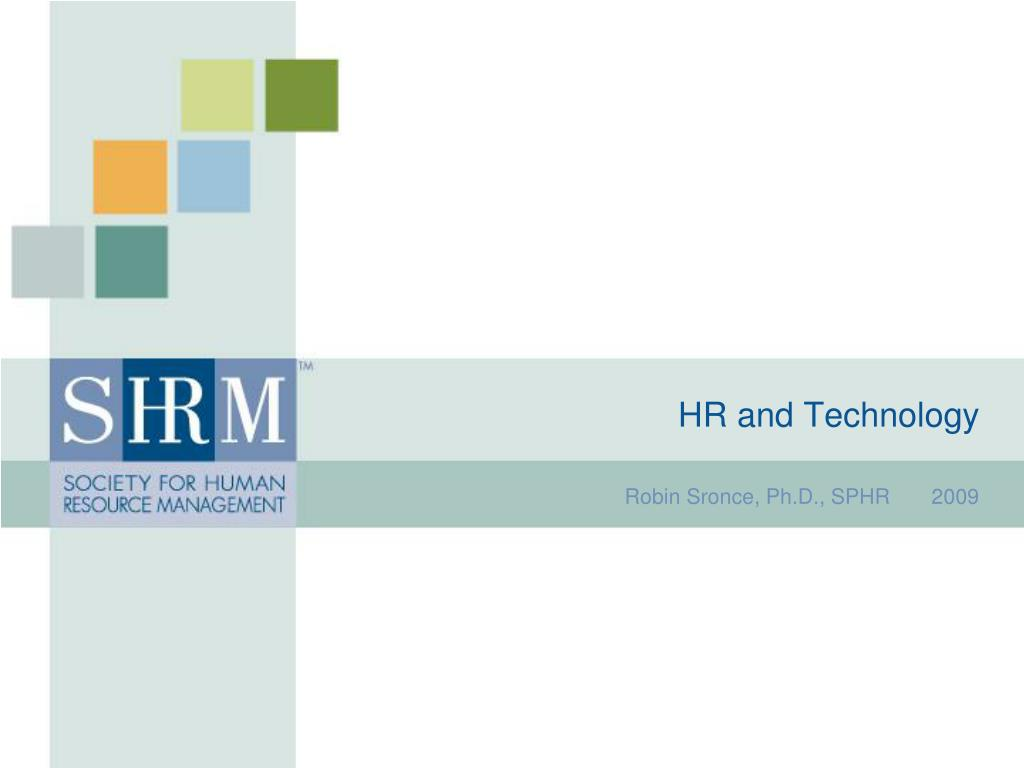 hr and technology l.