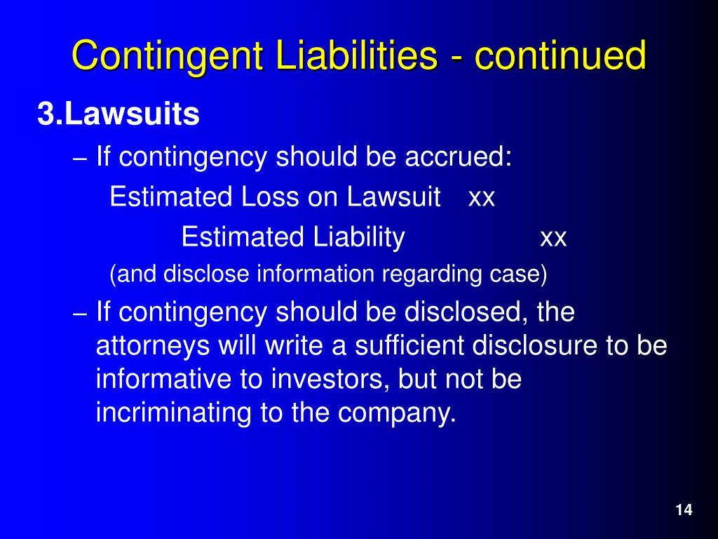 3.Lawsuits