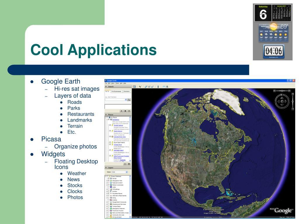 Cool Applications
