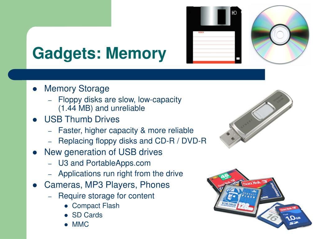 Gadgets: Memory