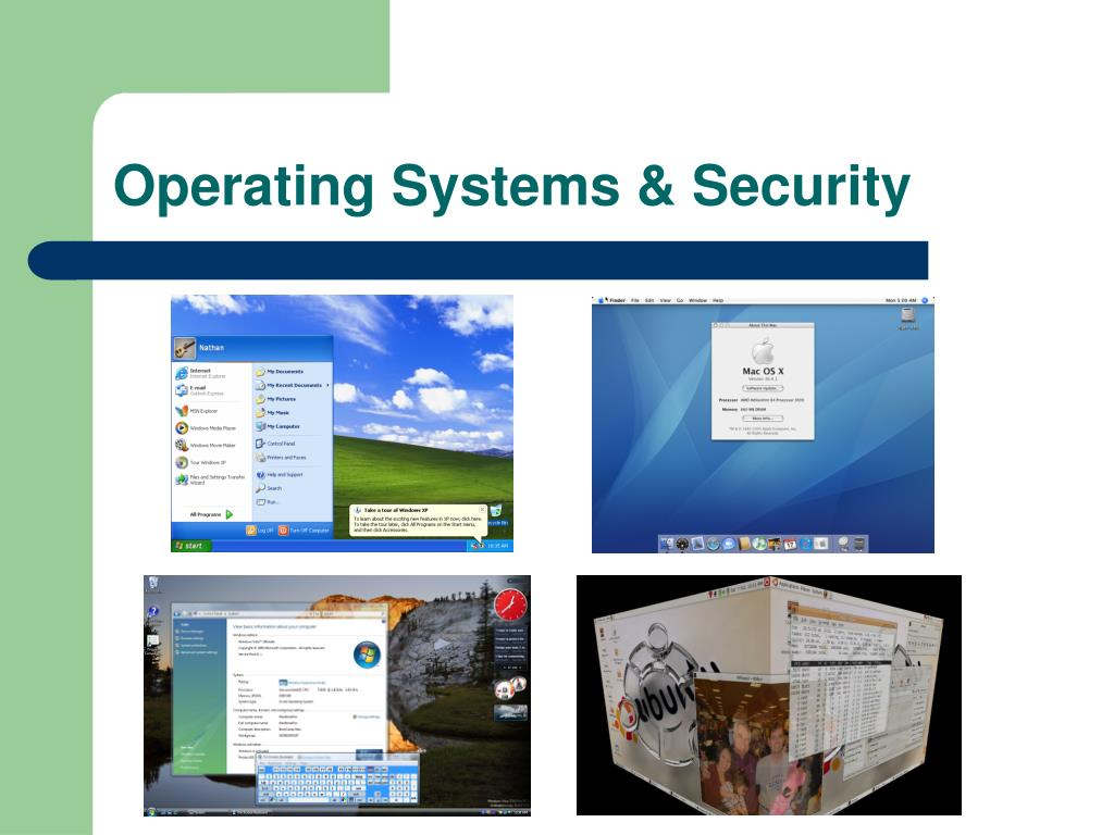 Operating Systems & Security