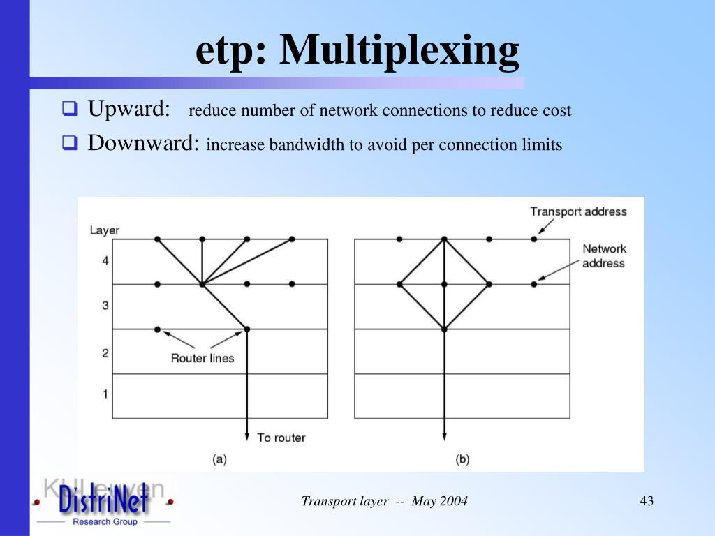 etp: Multiplexing