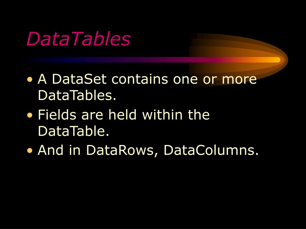 DataTables