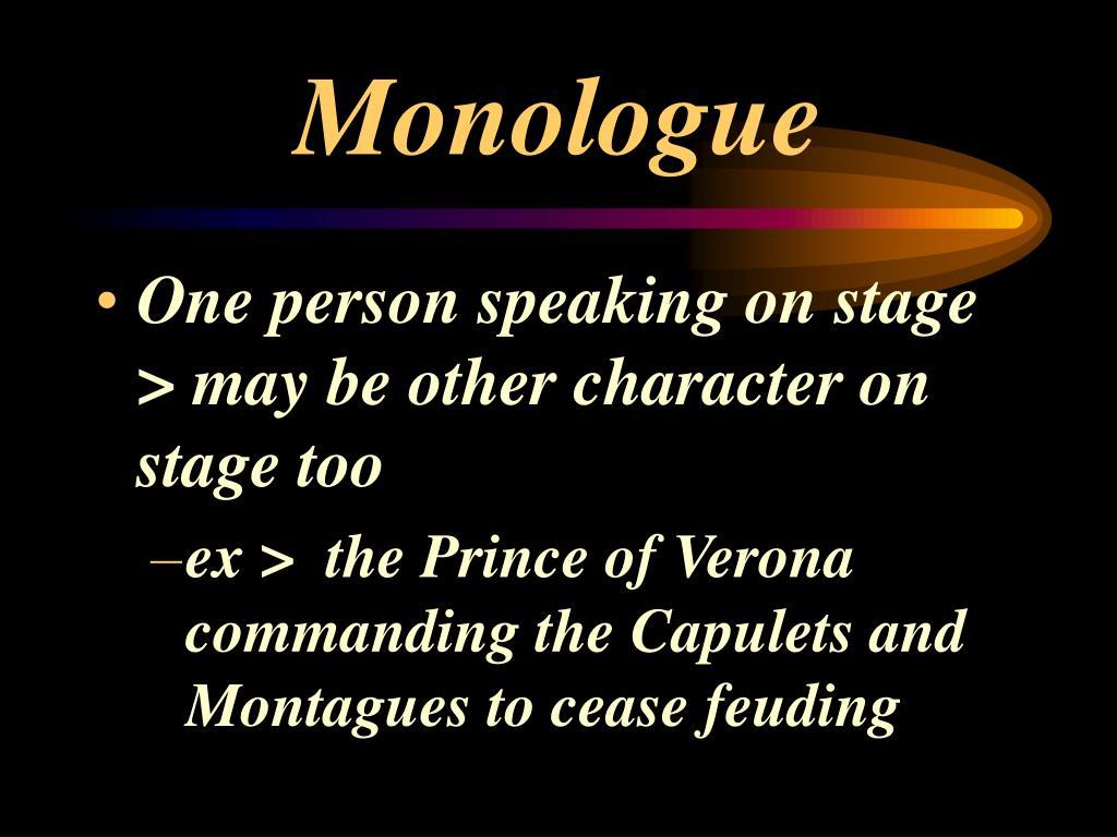 Monologue