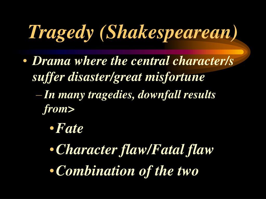 Tragedy (Shakespearean)
