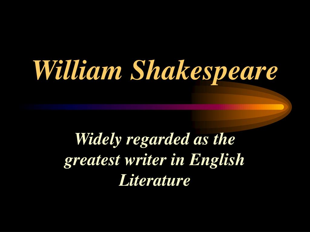 william shakespeare l.