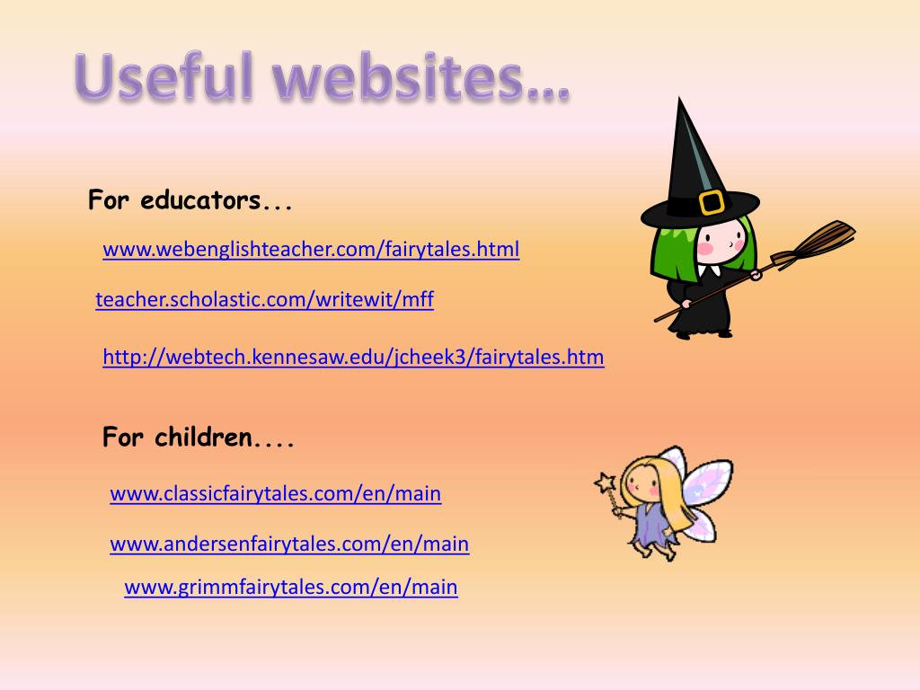 Useful websites…