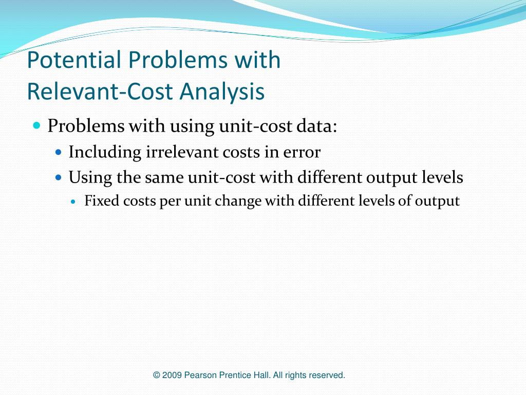Potential Problems with