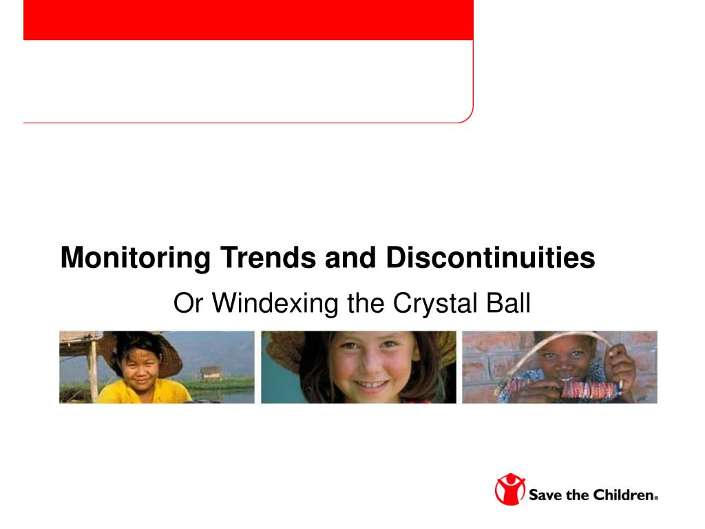 Monitoring Trends and Discontinuities