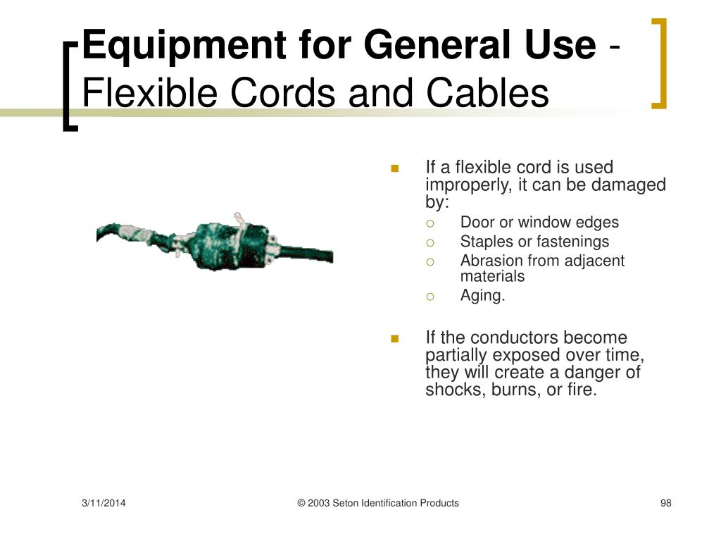Equipment for General Use
