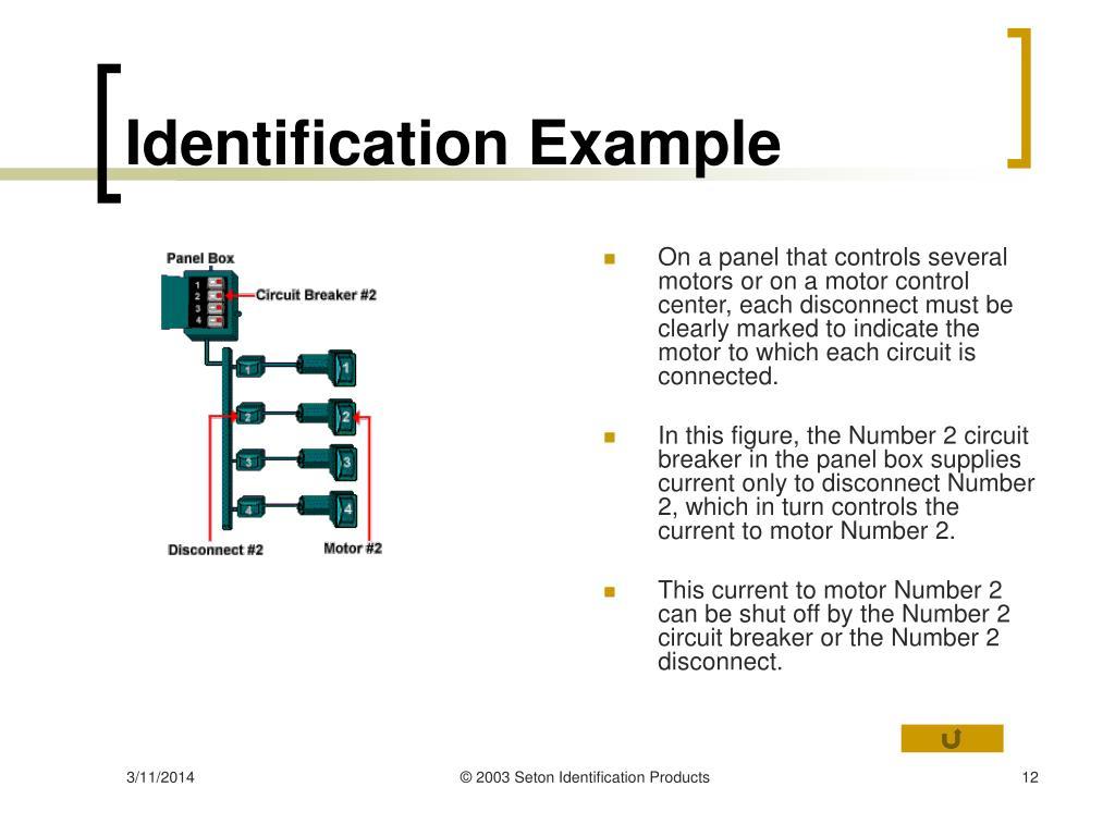 Identification Example