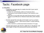 tactic facebook page17