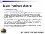 tactic youtube channel