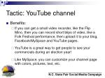 tactic youtube channel36