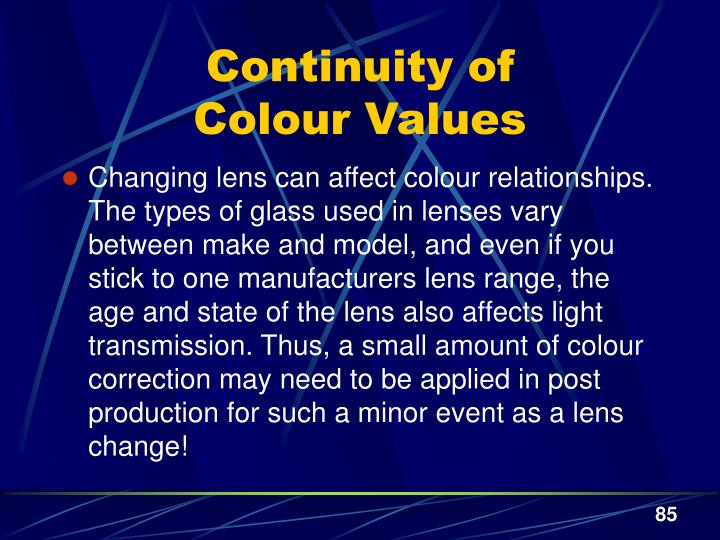 Continuity of