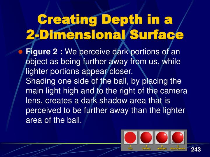 Creating Depth in a