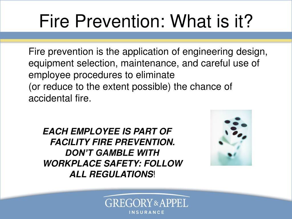 Fire Prevention: What is it?