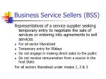 business service sellers bss