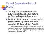 cultural cooperation protocol cont51