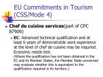 eu commitments in tourism css mode 4