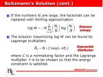 boltzmann s solution cont12