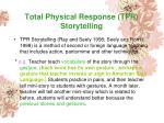 total physical response tpr storytelling