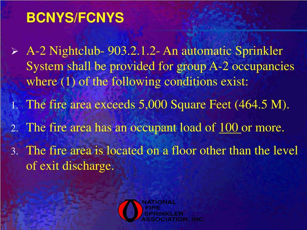 BCNYS/FCNYS