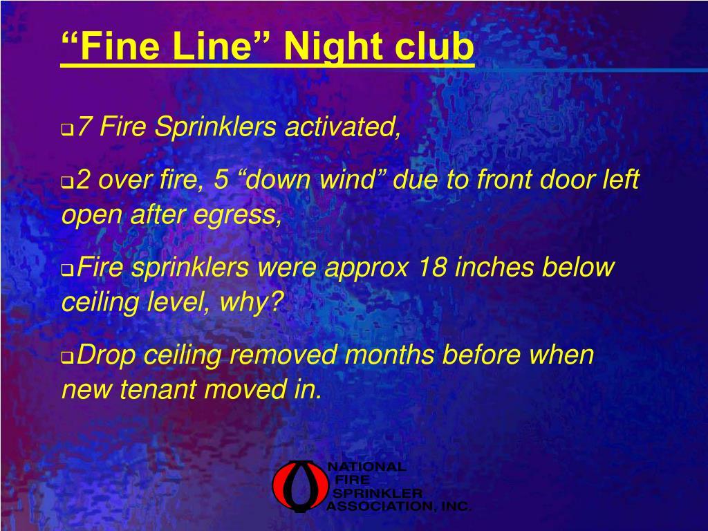"""Fine Line"" Night club"