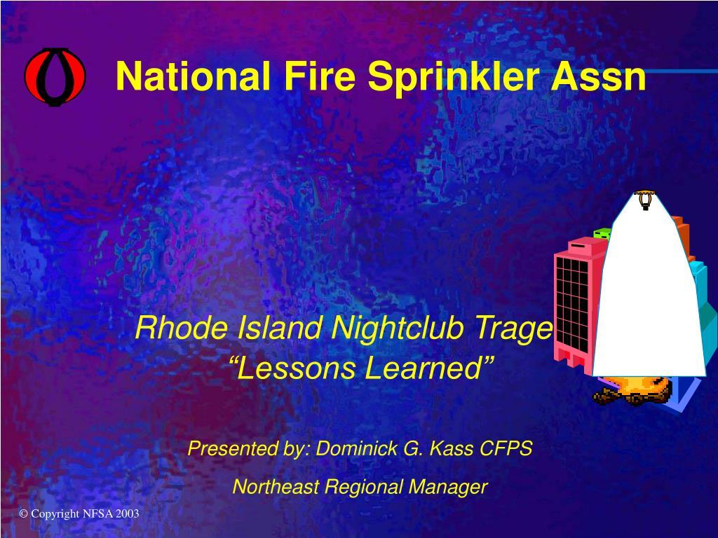National Fire Sprinkler Assn