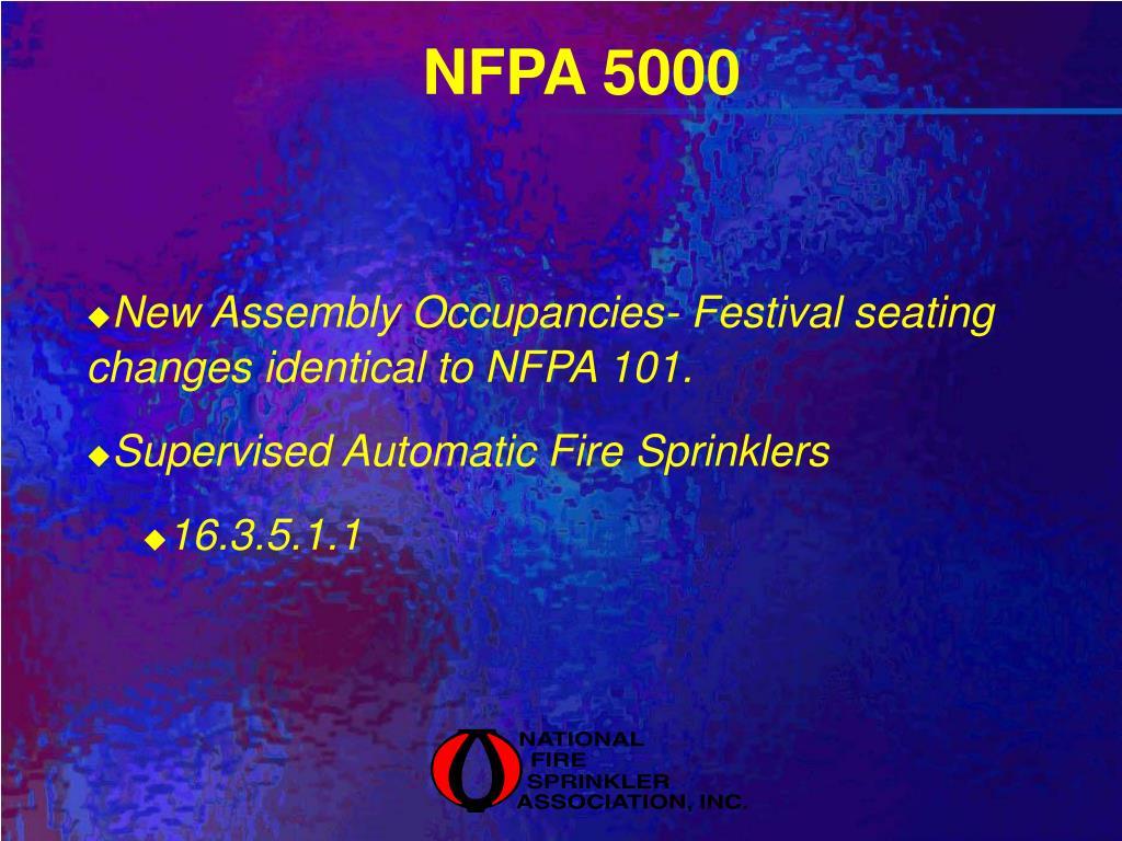 NFPA 5000