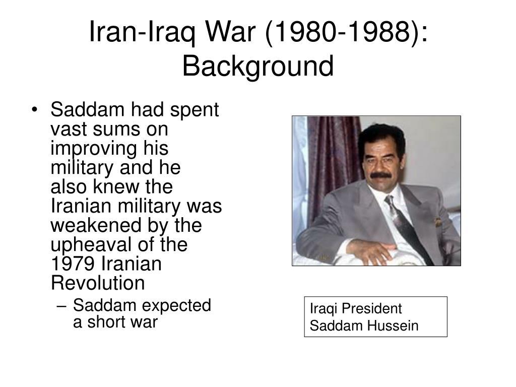 Iran-Iraq War (1980-1988): Background