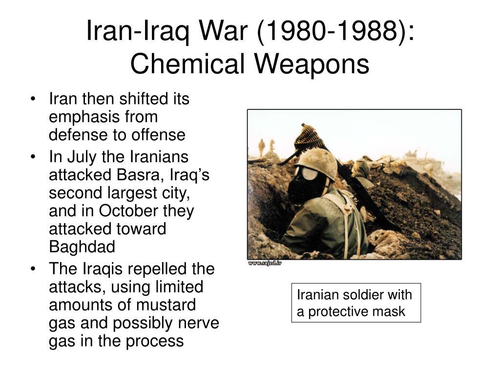 Iran-Iraq War (1980-1988): Chemical Weapons