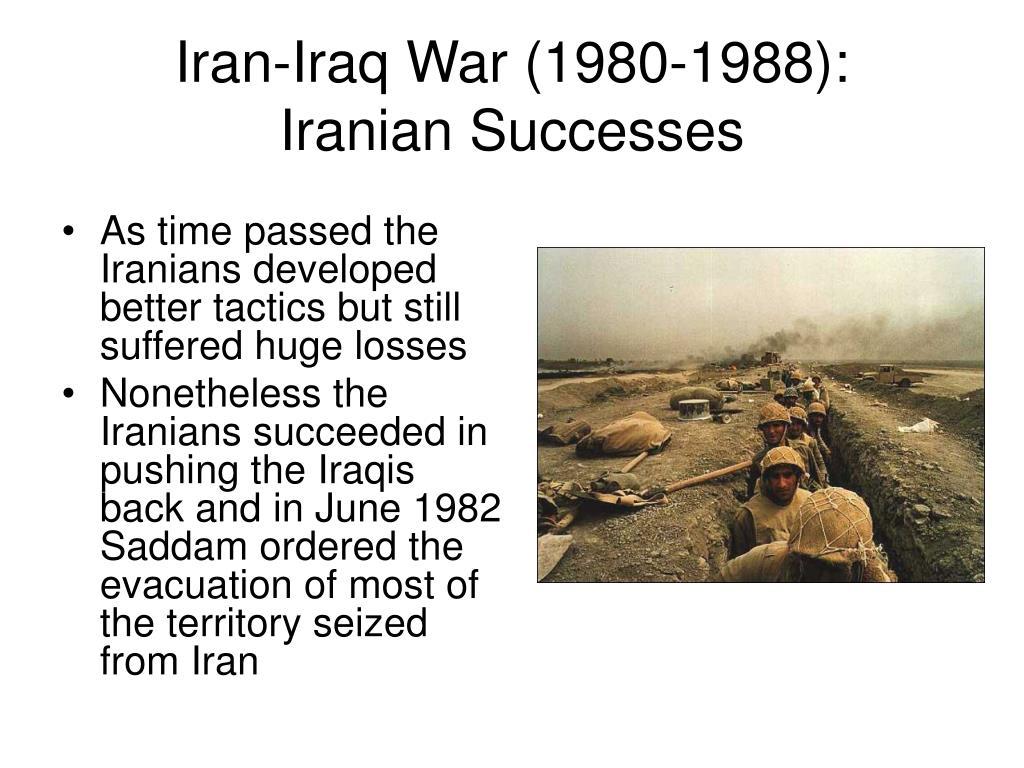 Iran-Iraq War (1980-1988):