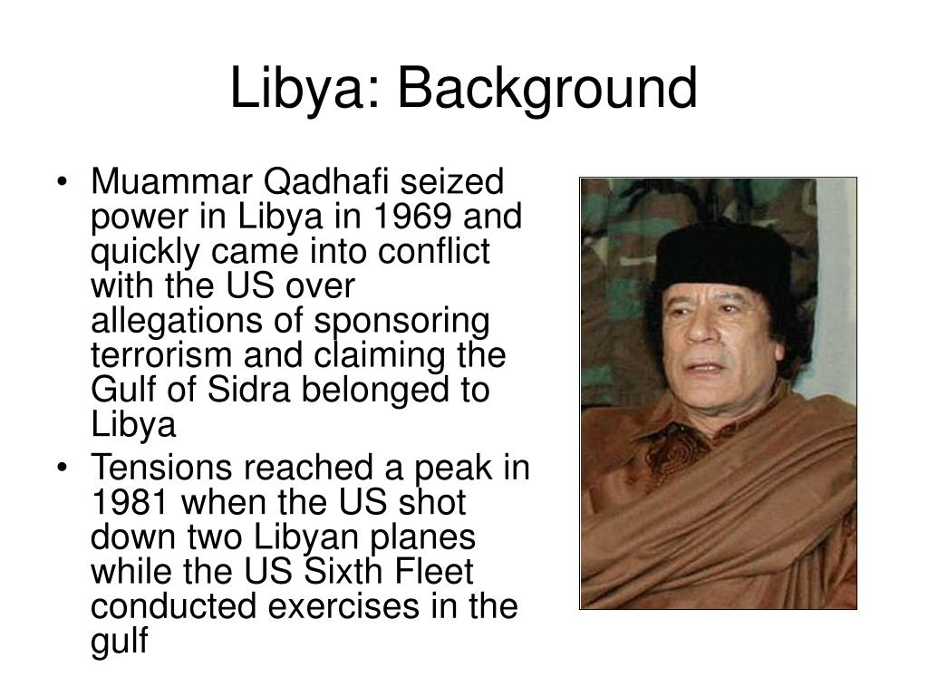 Libya: Background