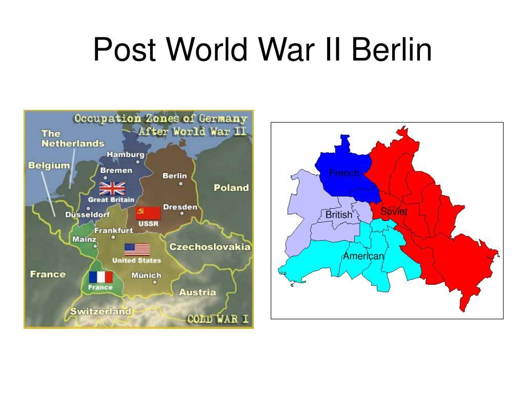 Post World War II Berlin