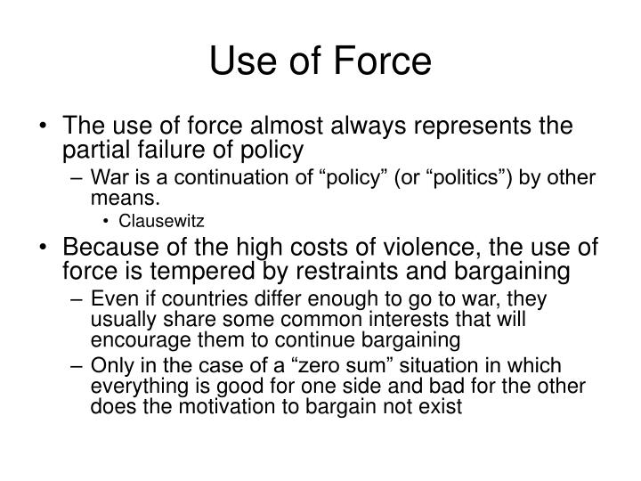 Use of force2