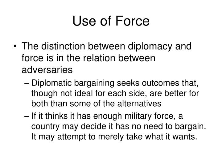 Use of force3