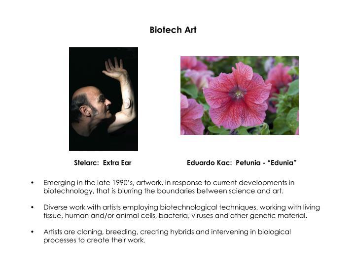 Biotech art