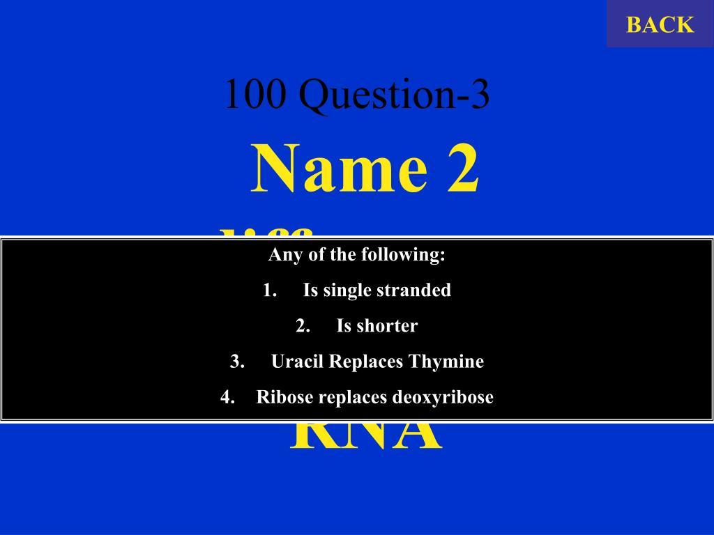 100 Question-3