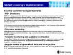 global crossing s implementation